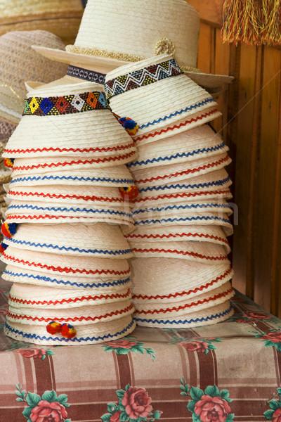 スタック ルーマニア語 画像 伝統的な 帽子 ストックフォト © RazvanPhotography