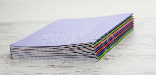 Stack of Notebooks Stock photo © RazvanPhotography