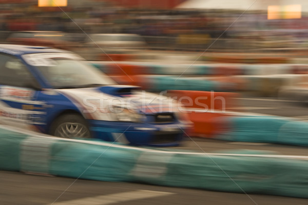 Abstract rally afbeelding snel auto Stockfoto © RazvanPhotography