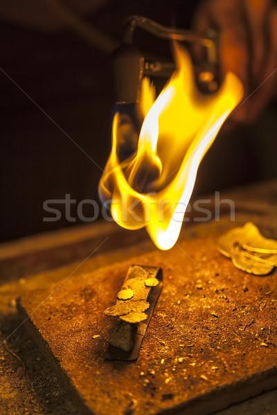 ювелирных месте брошь свет Сток-фото © RazvanPhotography