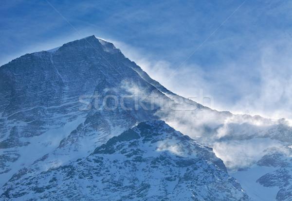 Nevasca alpes natureza beleza inverno montanhas Foto stock © RazvanPhotography