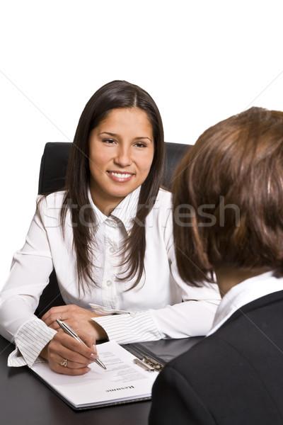 Business interview Stock photo © RazvanPhotography