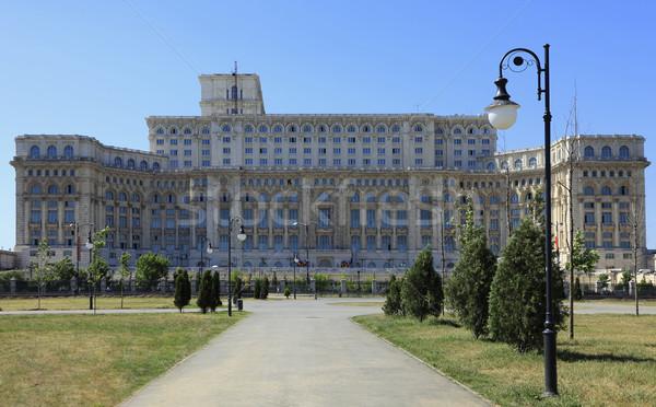 дворец изображение парламент народов дома эпоха Сток-фото © RazvanPhotography