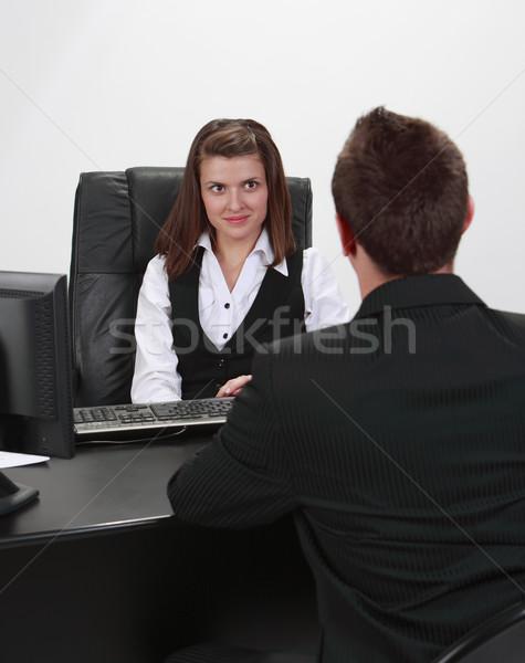 The interview Stock photo © RazvanPhotography