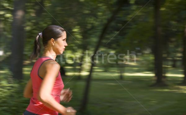 Girl running Stock photo © RazvanPhotography