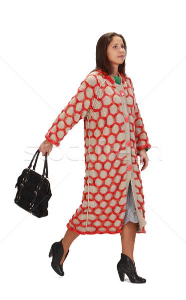 Woman in a hurry Stock photo © RazvanPhotography