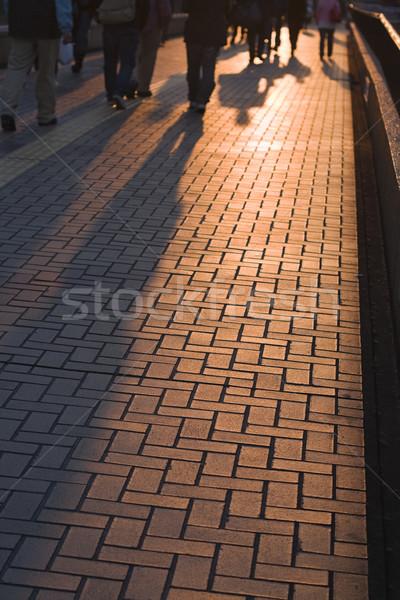 Shadows of the people Stock photo © RazvanPhotography