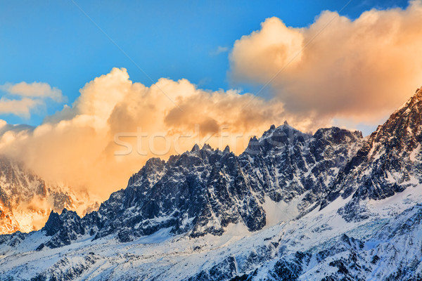 L'Aiguille du Plan - The French Alps Stock photo © RazvanPhotography