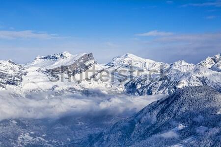 The Alps in Winter Stock photo © RazvanPhotography