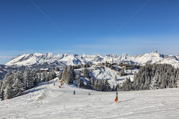 High Altitude Ski Domain Stock photo © RazvanPhotography