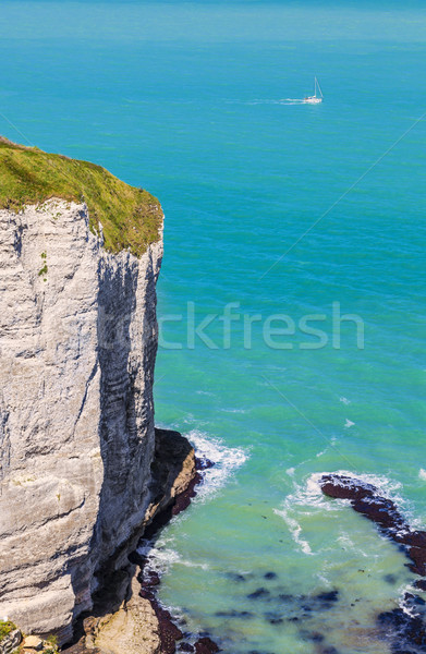 Sailing on the Normandy Coast Stock photo © RazvanPhotography