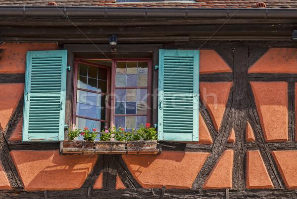Detail of an Alsatian House Stock photo © RazvanPhotography