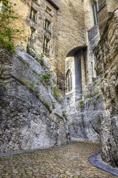Rue de la Peyrolerie- Avignon, France Stock photo © RazvanPhotography