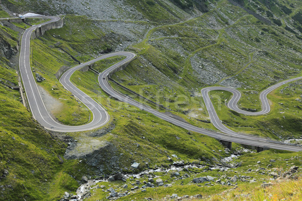 Road in the mountains Stock photo © RazvanPhotography