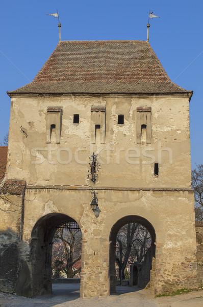 塔 画像 入り口 砦 美しい も ストックフォト © RazvanPhotography