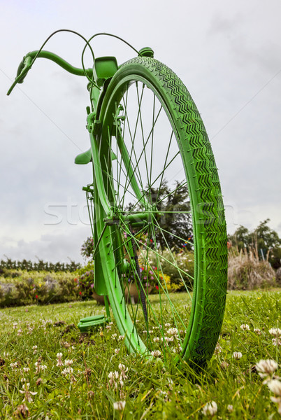 Old Green Bicycle  Stock photo © RazvanPhotography