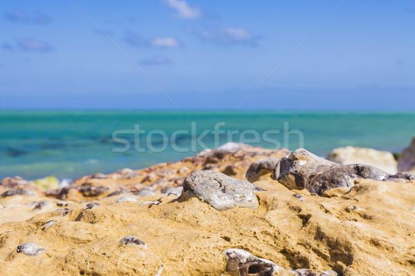 Rocky Beach Abstract Stock photo © RazvanPhotography
