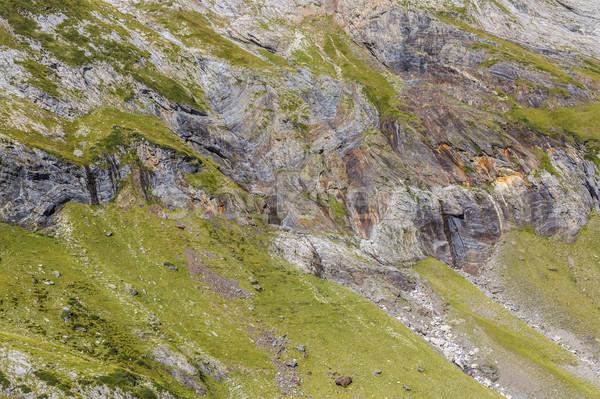 Skał cyrku górskich szczegół jeden Zdjęcia stock © RazvanPhotography