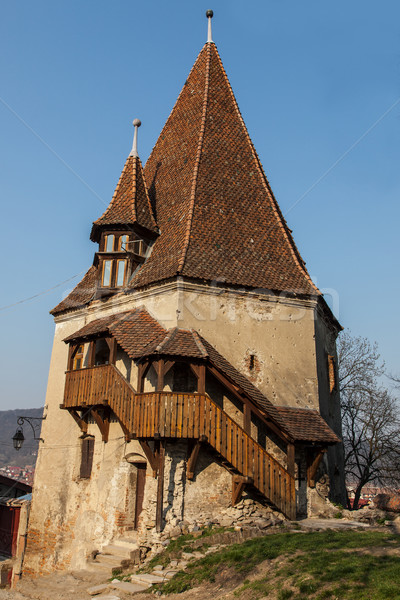 The Shoemaker's Tower- Sighisoara, Romania Stock photo © RazvanPhotography