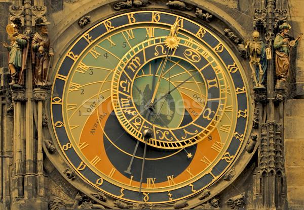Csillagászati óra részlet kép gép kultúra Stock fotó © RazvanPhotography