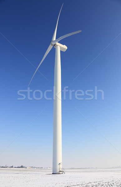 Wind turbine Stock photo © RazvanPhotography