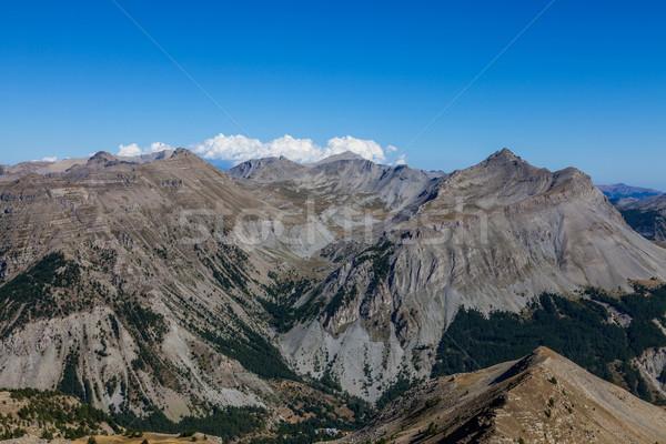 Paysage alpes impressionnant élevé altitude sud Photo stock © RazvanPhotography