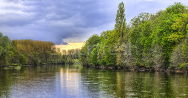 The River Cher Stock photo © RazvanPhotography