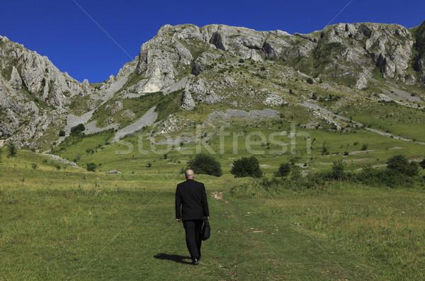 Businessman outdoors Stock photo © RazvanPhotography