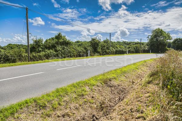 Rural carretera imagen norte Francia normandía Foto stock © RazvanPhotography