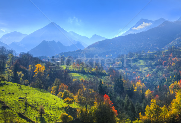 Autumn in Pyrenees Mountains Stock photo © RazvanPhotography
