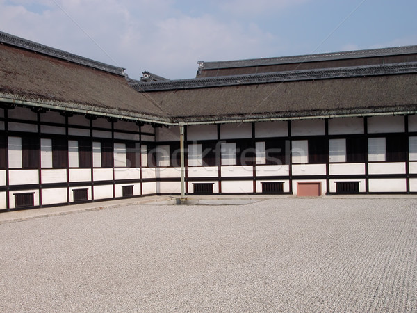 Kyoto Imperial Palace building Stock photo © RazvanPhotography