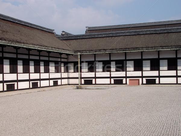 Kyoto palais bâtiment repère magnifique exemple Photo stock © RazvanPhotography