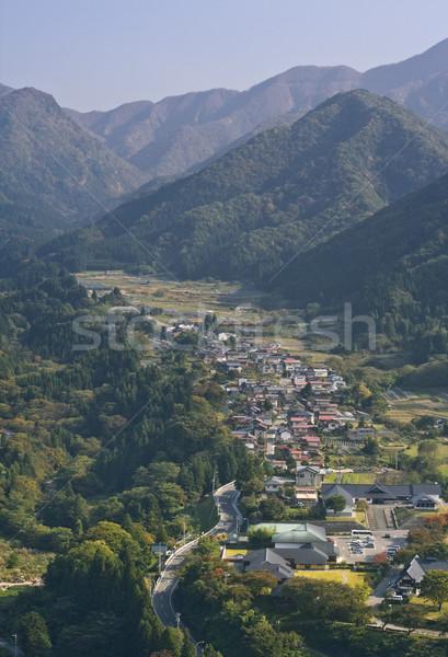 Yamadera Valley Stock photo © RazvanPhotography