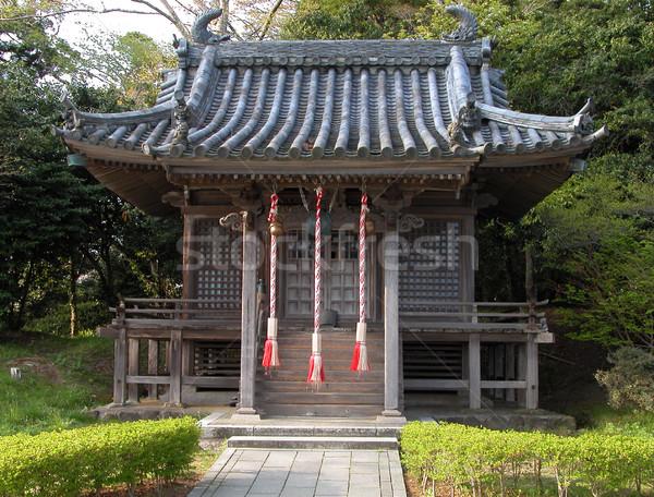 Piccolo santuario japanese foresta costruzione parco Foto d'archivio © RazvanPhotography
