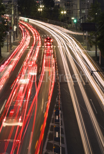 Night traffic in the city Stock photo © RazvanPhotography