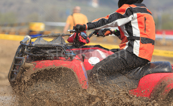 ATV race abstract Stock photo © RazvanPhotography