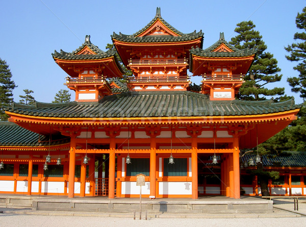 Heian Shrine Stock photo © RazvanPhotography