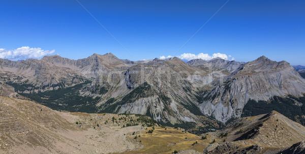 Paysage alpes élevé altitude sud français Photo stock © RazvanPhotography