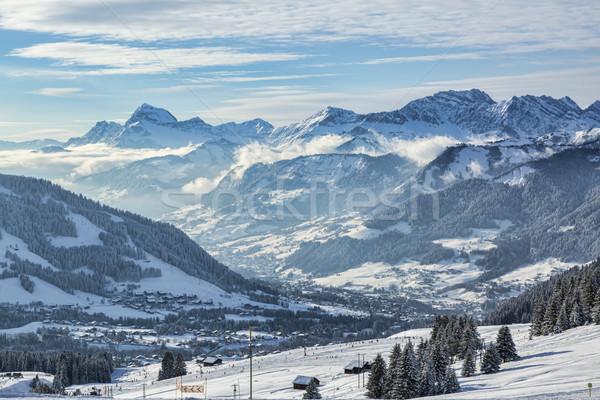 High Altitude Ski Domain Stock photo © RazvanPhotography