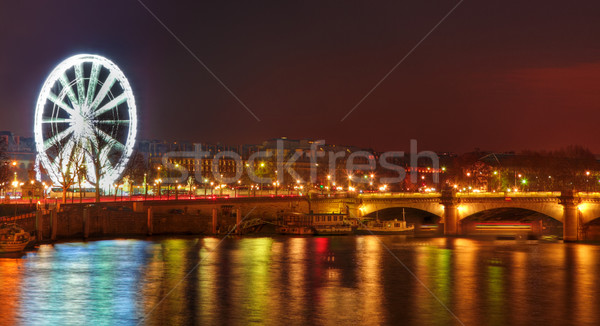 Parisian Night Stock photo © RazvanPhotography