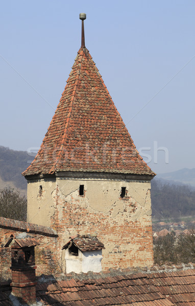 Stock photo: Stronghold tower