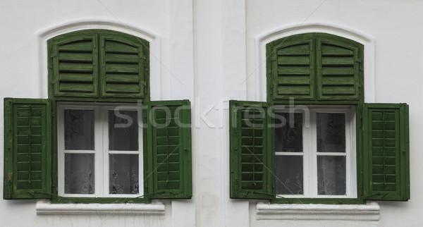 Traditional windows Stock photo © RazvanPhotography