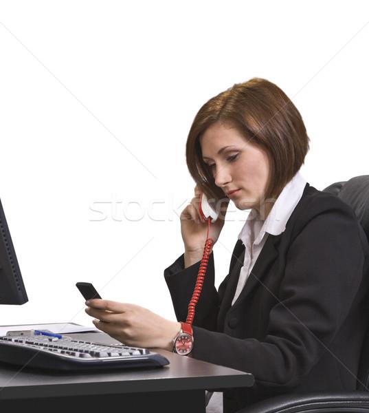 Busy call Stock photo © RazvanPhotography