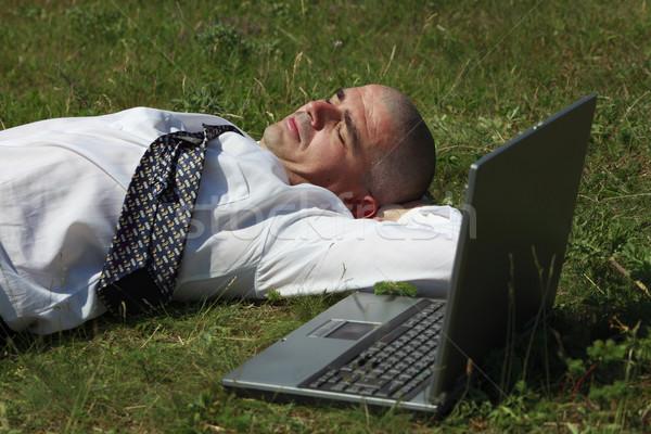 Tired man Stock photo © RazvanPhotography