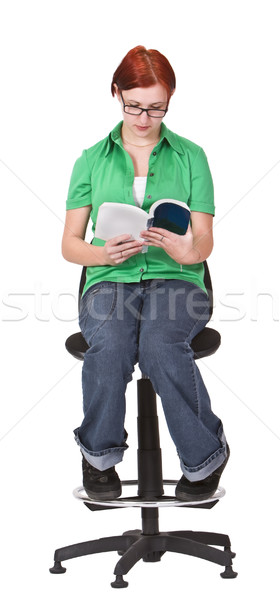 Girl reading Stock photo © RazvanPhotography