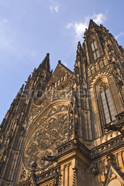 St.Vitus Cathedral-Prague Castle Stock photo © RazvanPhotography