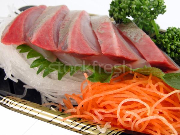 Sashimi öğle yemeği odak sebze gıda Stok fotoğraf © RazvanPhotography