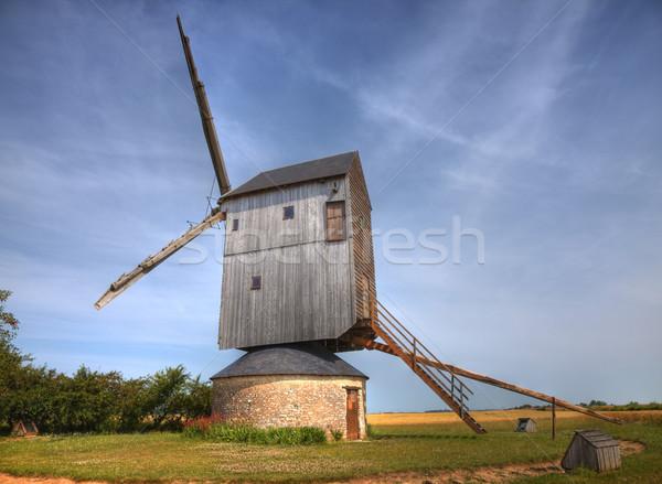 Windmill Stock photo © RazvanPhotography