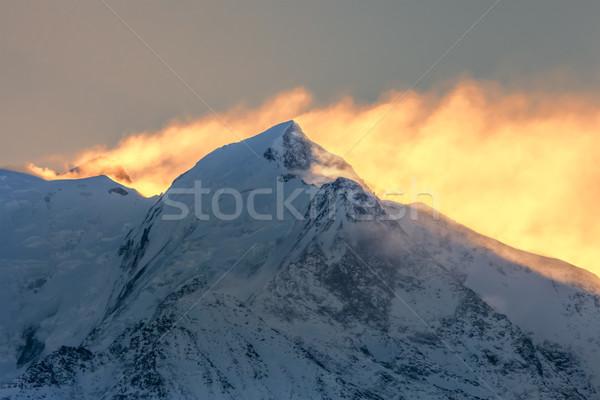 Morning Hours on Mont Blanc Stock photo © RazvanPhotography