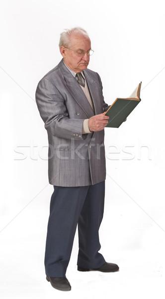 Reading a book Stock photo © RazvanPhotography